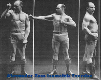alexander zass isometric exercise