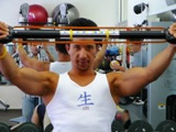 isometric exercises from the upper chest